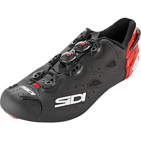 Sidi Shot Scarpe Uomo, matt black/red